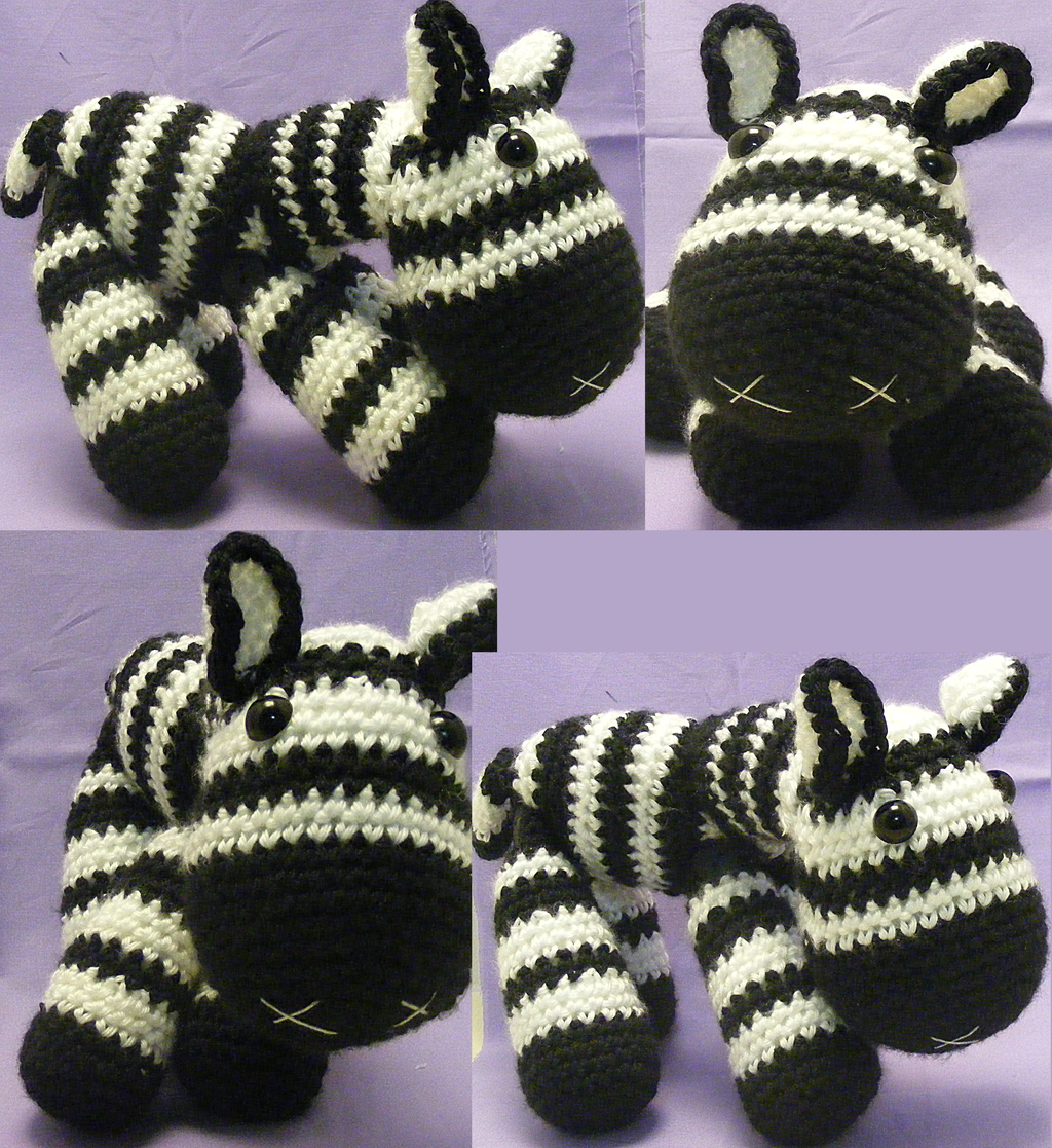 Zebra Amigurumi by Crowchet on DeviantArt
