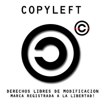 COPYLEFT by ICJTBLUE