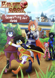Empty book: Questing for food. by ultimatewino