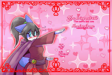 Valentine's card: Amethyst by ultimatewino
