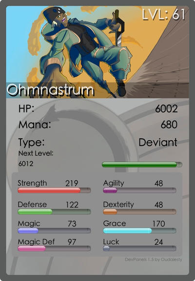 Ohmnastrum's Profile Picture