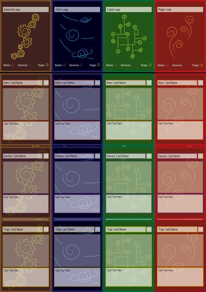 studies - trading card set by iAmAneleBiscarra
