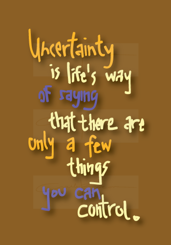 dating stage 2 uncertainty quotes
