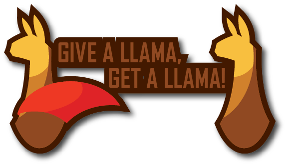 profile sticker - give a llama get a llama 2 by iAmAneleBiscarra