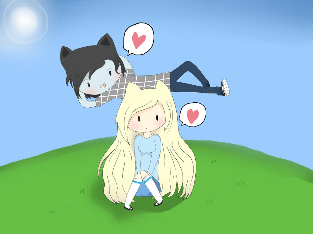 Marshall Lee And Fionna By Cuteangel51 On DeviantArt