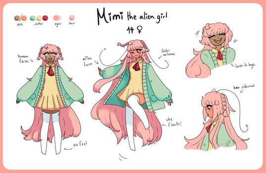 Mimi Reference Sheet 2021