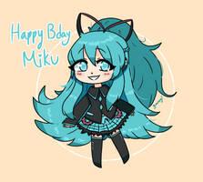 Miku IF version - Happy Birthday 2021
