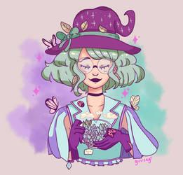 DTIYS - mrsbutterd's herbal witch OC