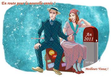 Happy new year 2011 by ladynauriel