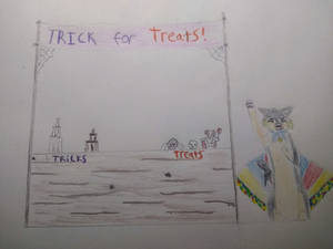 Trick for treats stall