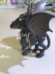 Thestral key chain