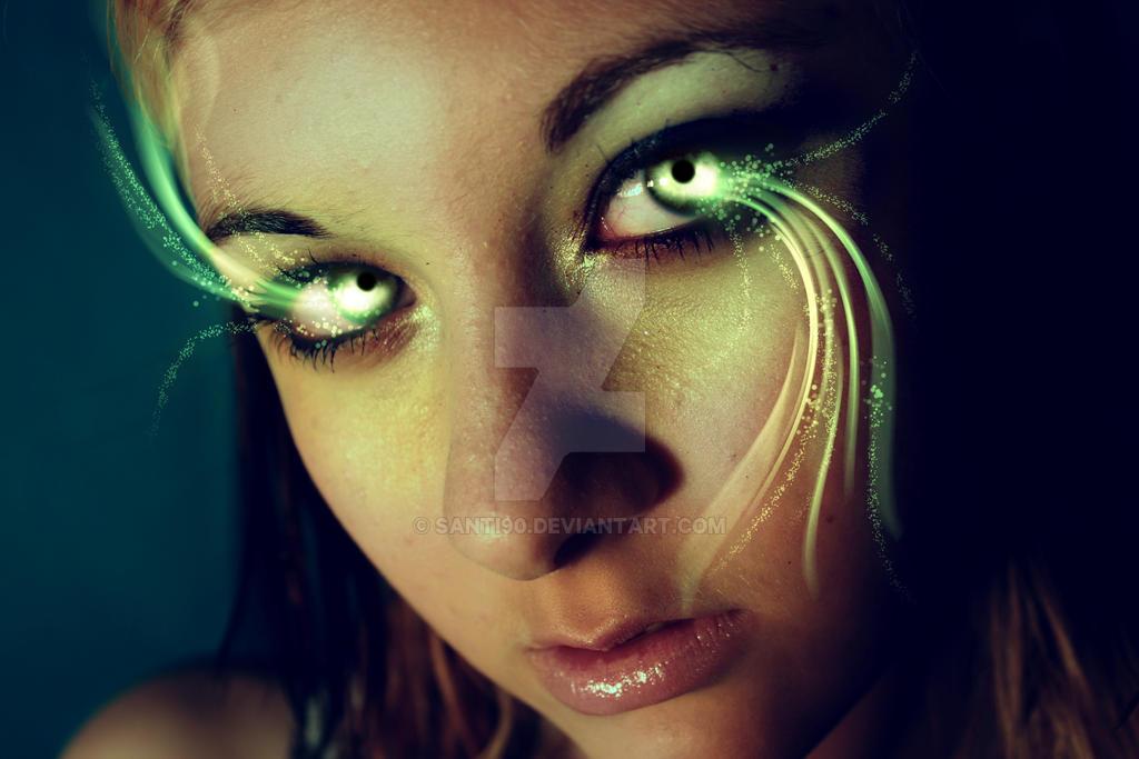 Fairy Eyes by Santi90