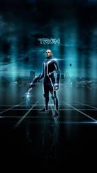 TRON -poster remake- by Santi90