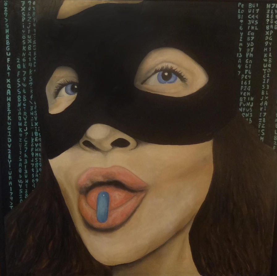 The blue pill by janina