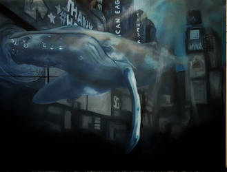 Whale on Time Square