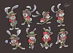 Flora Bunny Character Sheet