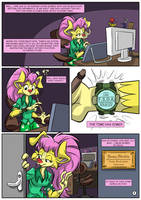 Adventures of Sussy Sheltie #1 Page01 by MartonSzucsStudio