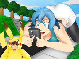 Finally Finding a Pikachu by Gtsleuth