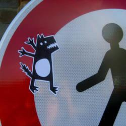 Sticker - The Wolf