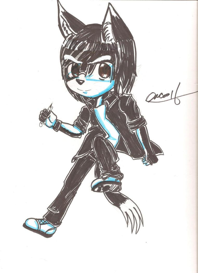 My avatar Furry Chibi by osukaru-kun
