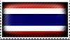 Thailand Flag by cinnosula