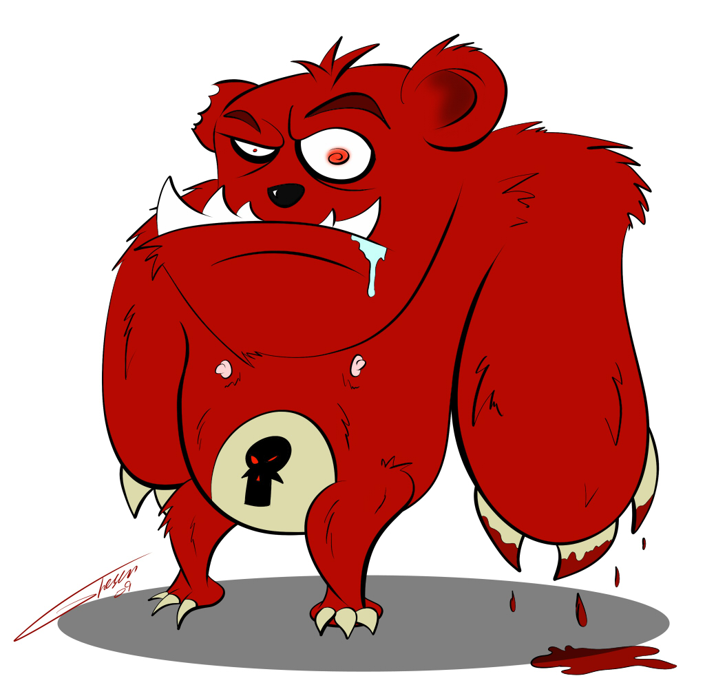 Killer Bear by The-Seacow on DeviantArt