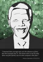 In Memory [Nelson Mandela] by studioincandescence