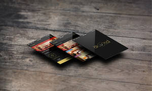App Screens - HotelsAroundYou.com by studioincandescence
