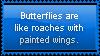 Butterflies, Like Moving Flowers... by HopeSwings777