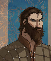 Warden Blackwall by queencarrion