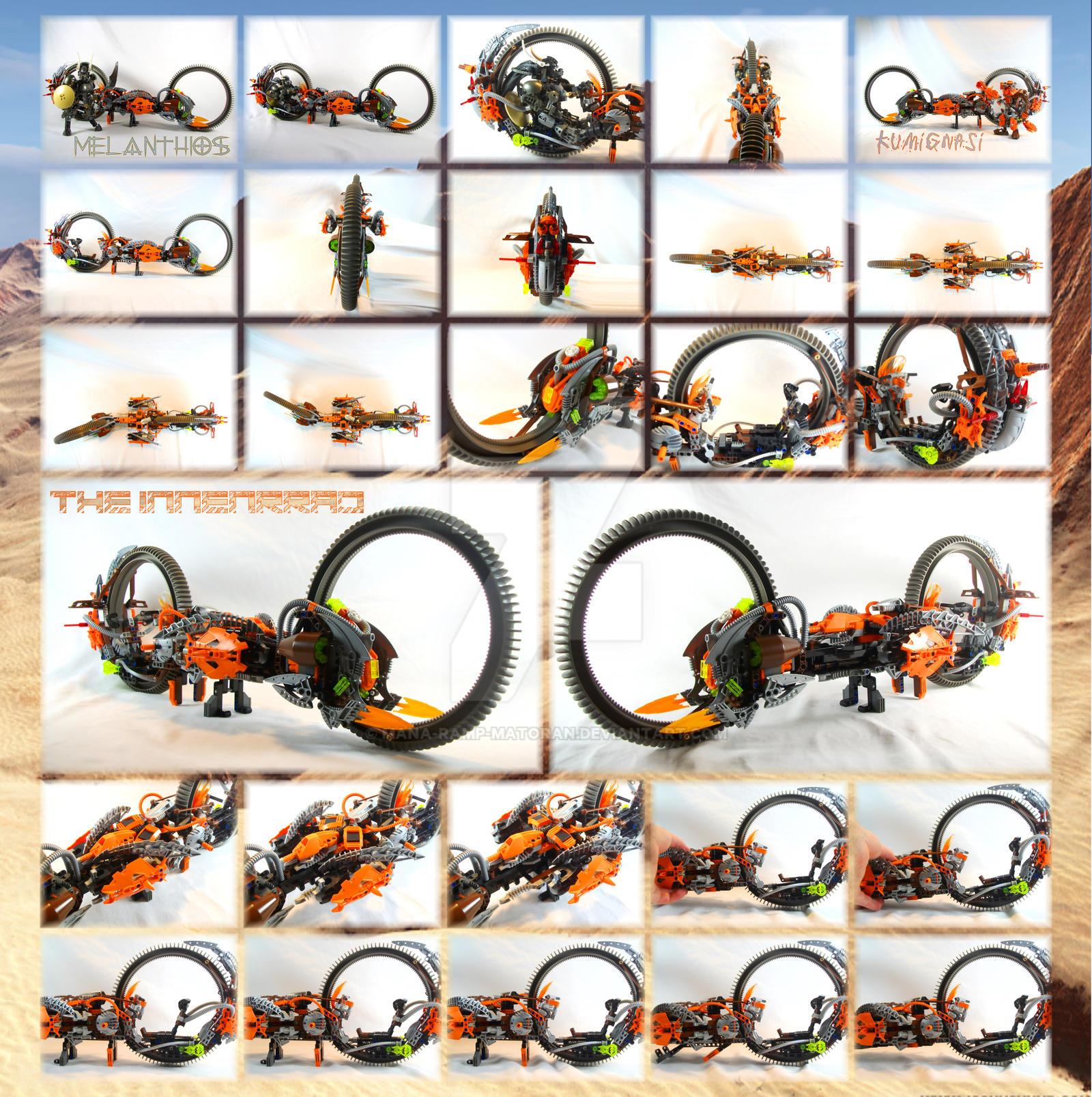 Bionicle MOC: The Innenrrad by 3rdeye88