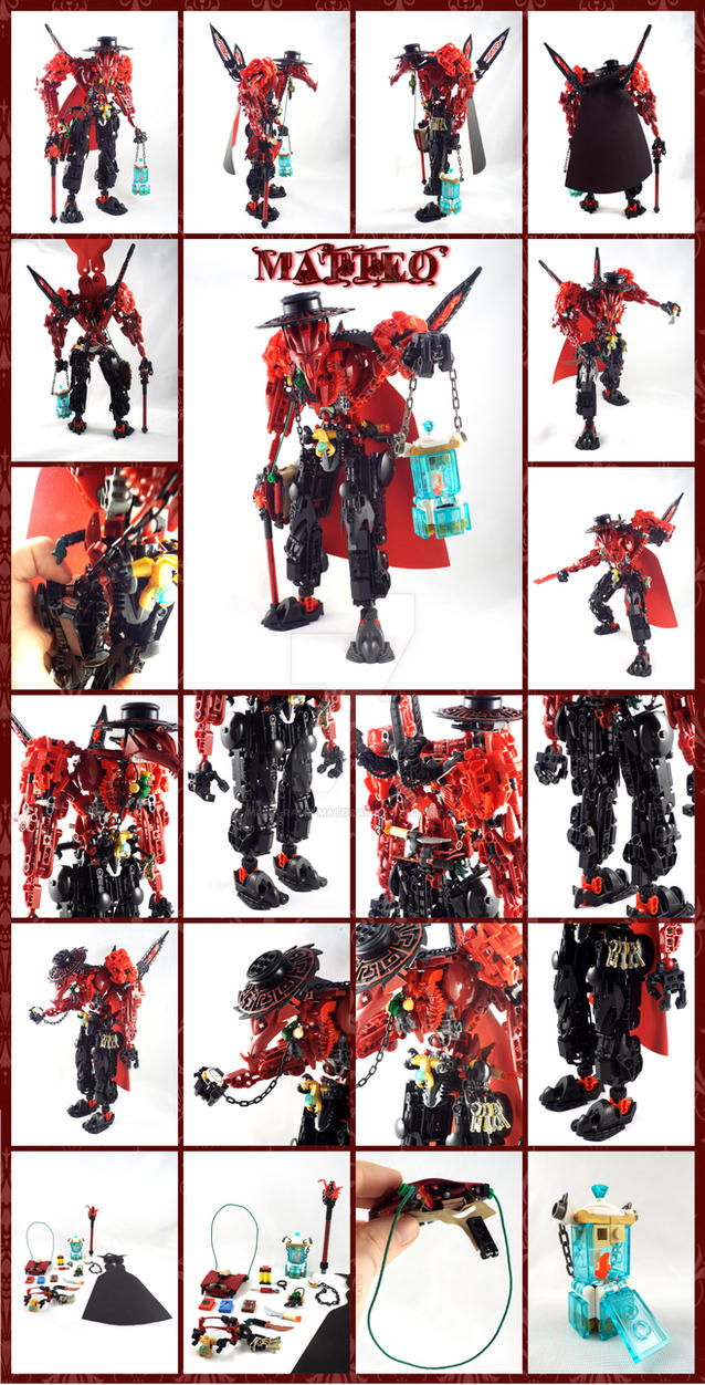 Bionicle MOC: Matteo Detail by 3rdeye88