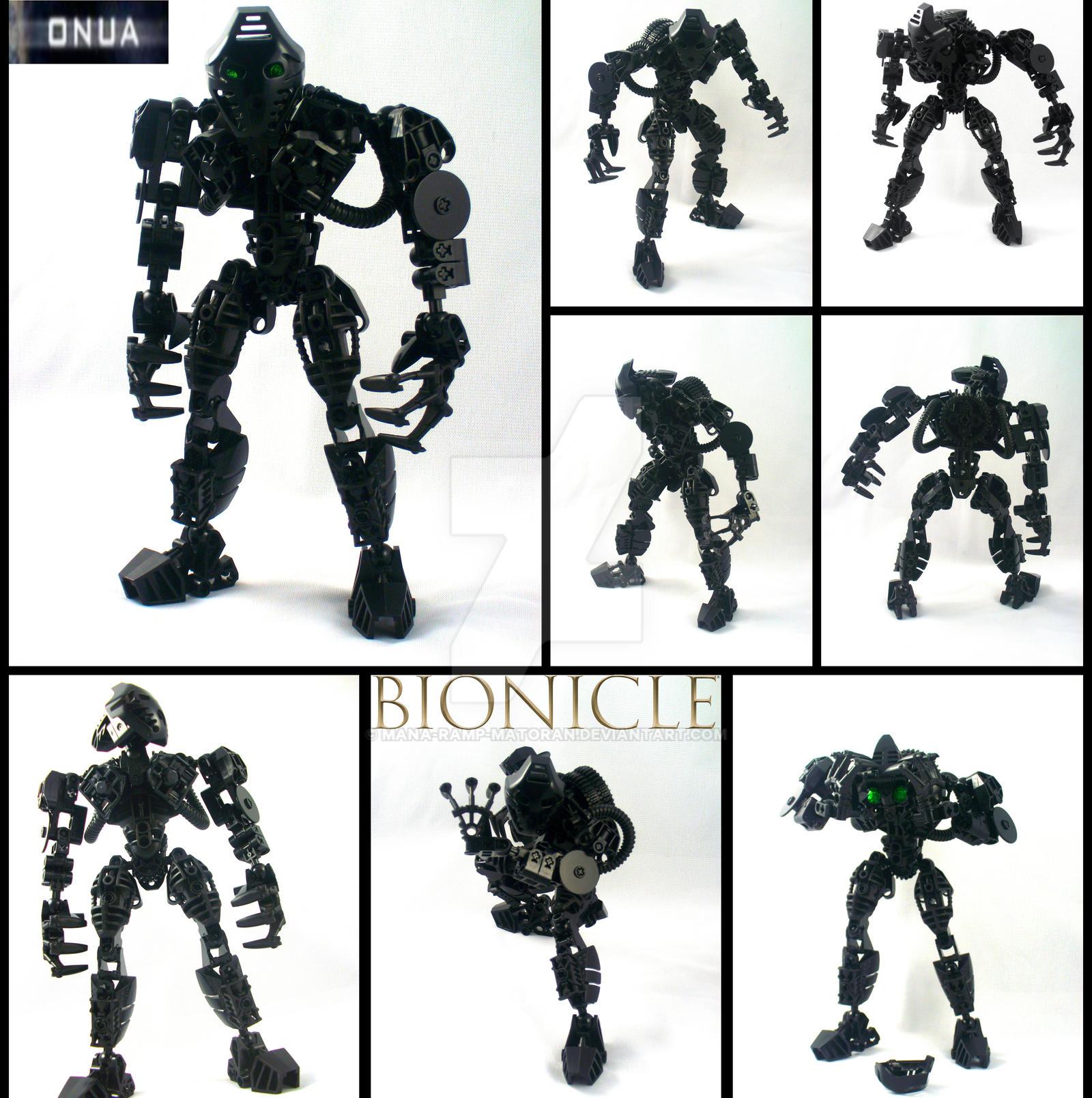 Bionicle MOC: Onua Mata revamp by 3rdeye88