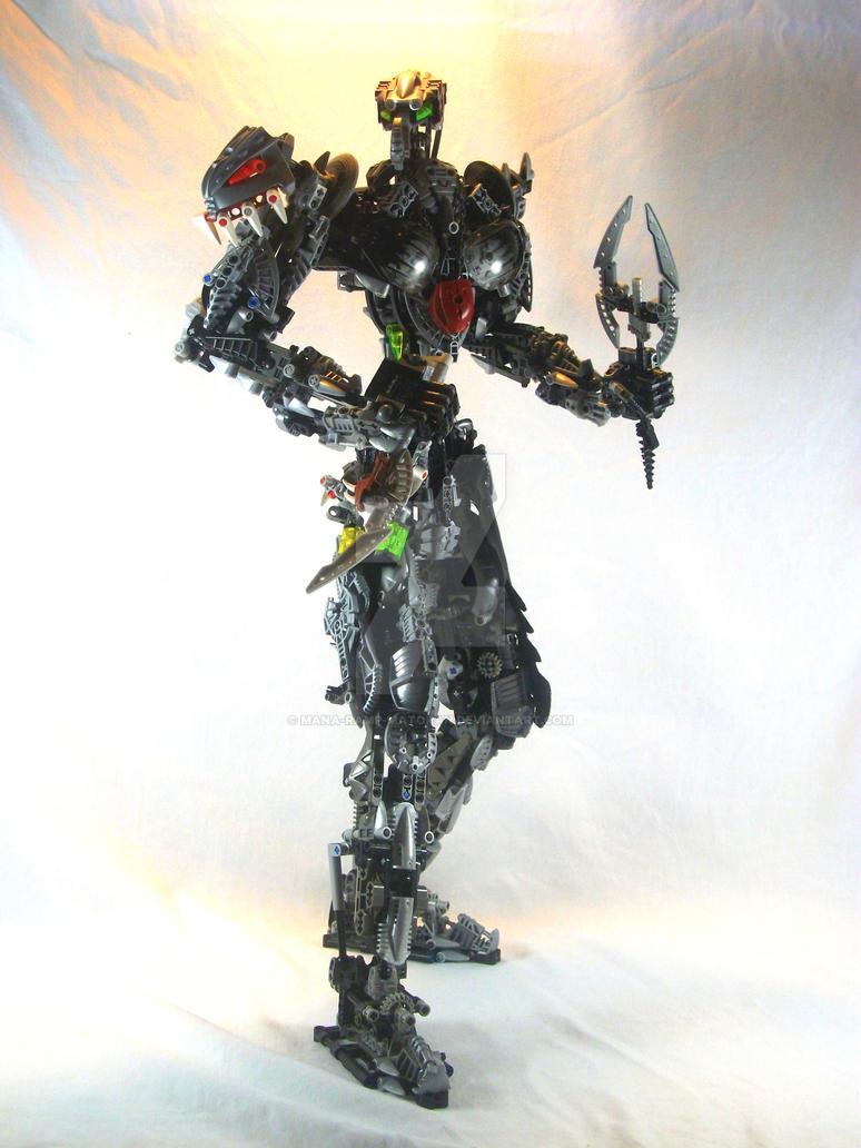 Bionicle MOC: Ryakk by 3rdeye88