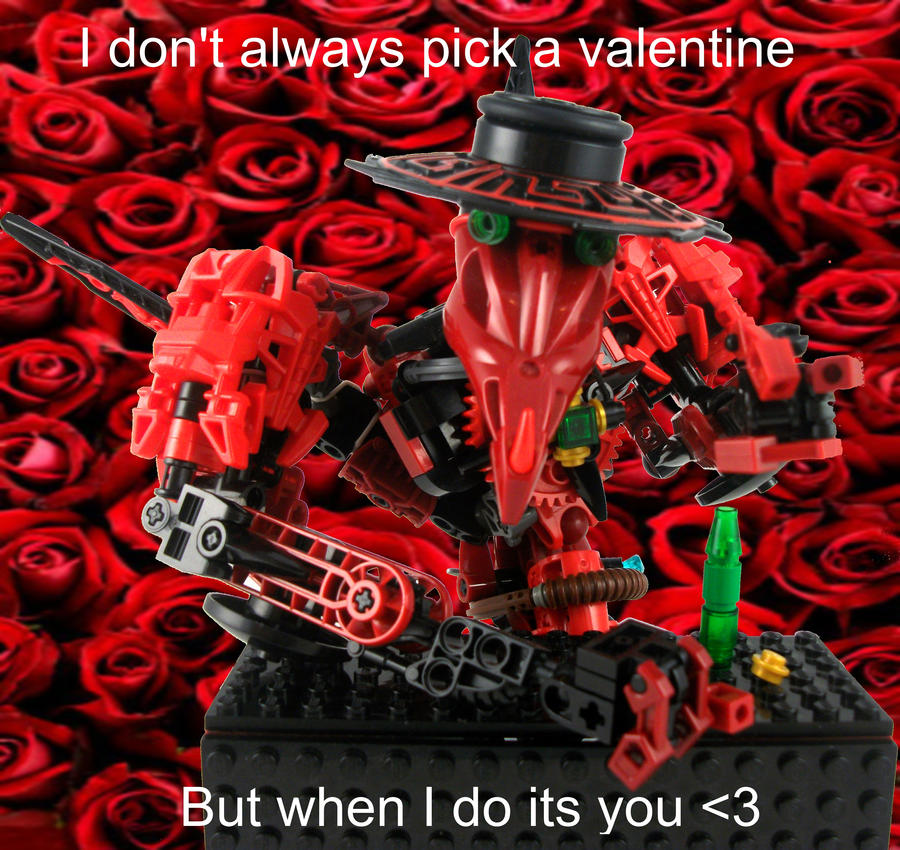 The most interesting MOC in the world Valentine. by 3rdeye88