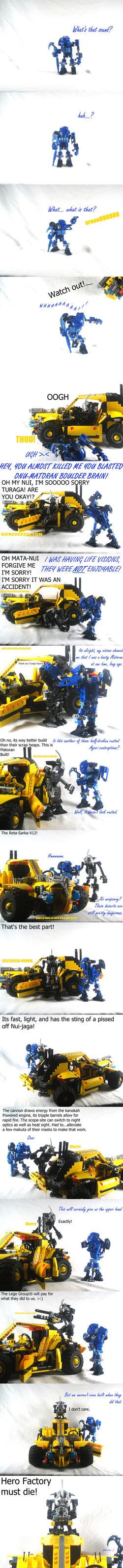 Bionicle MOCery: Revealing Vengence by Mana-Ramp-Matoran