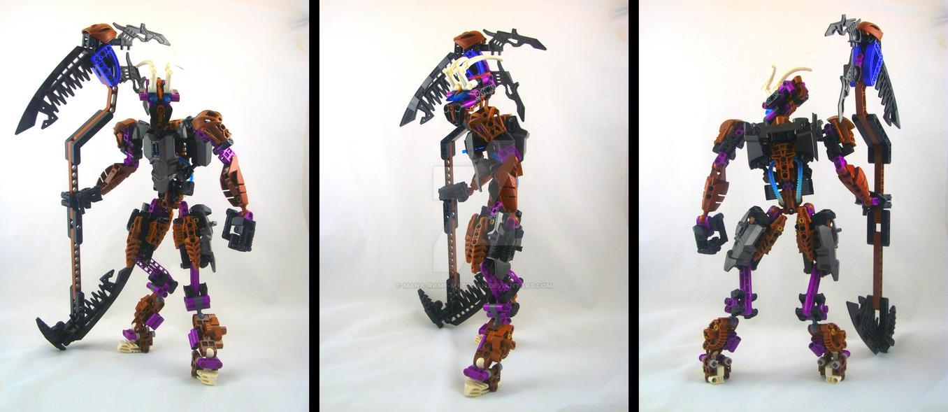 Bionicle MOC: Melanthios V1. by 3rdeye88