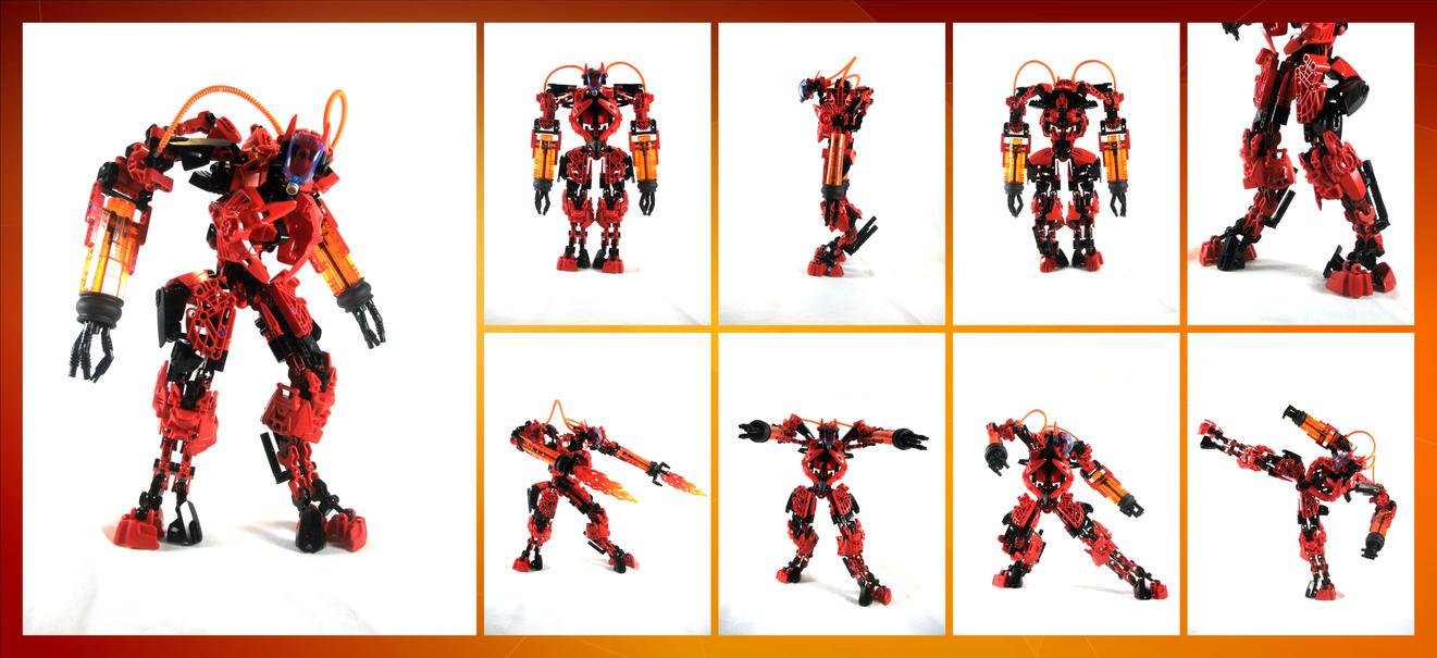 Bionicle MOC: Furnace 2.0 by 3rdeye88