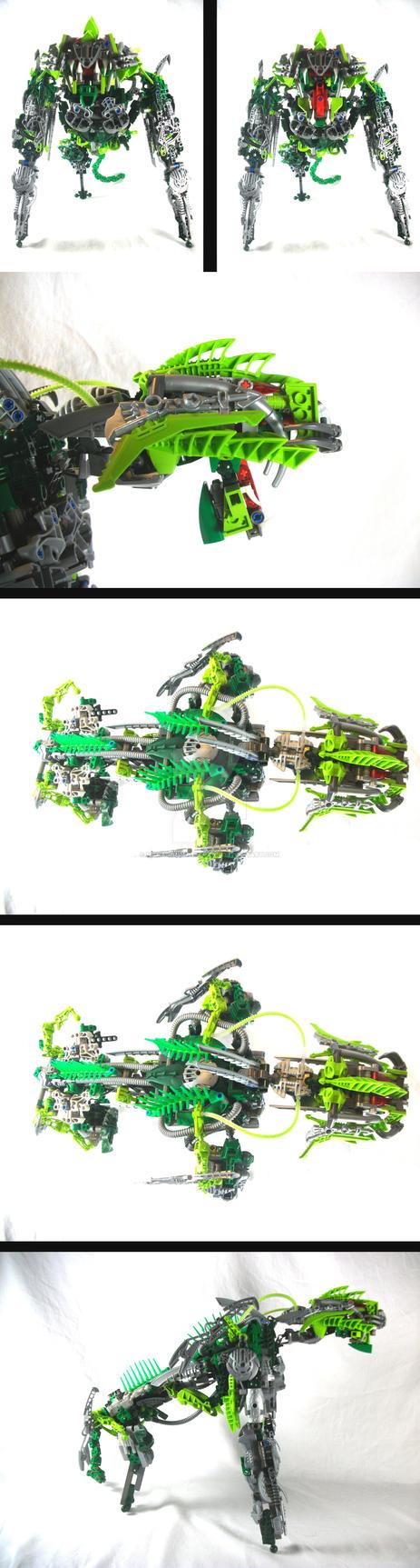 Bionicle MOC: Rahi WIP by 3rdeye88