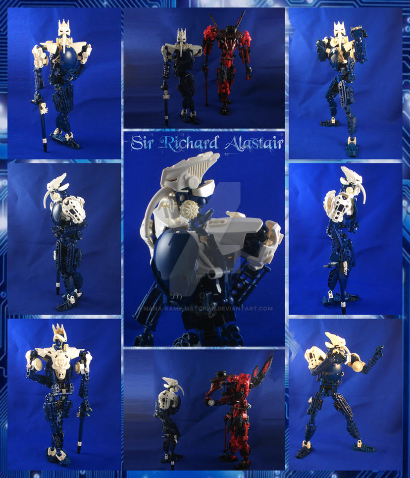 Bionicle MOC: Sir Richard Alastair by 3rdeye88