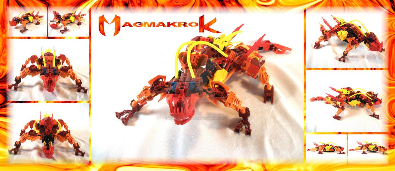Bionicle MOC: Magmakrok by 3rdeye88