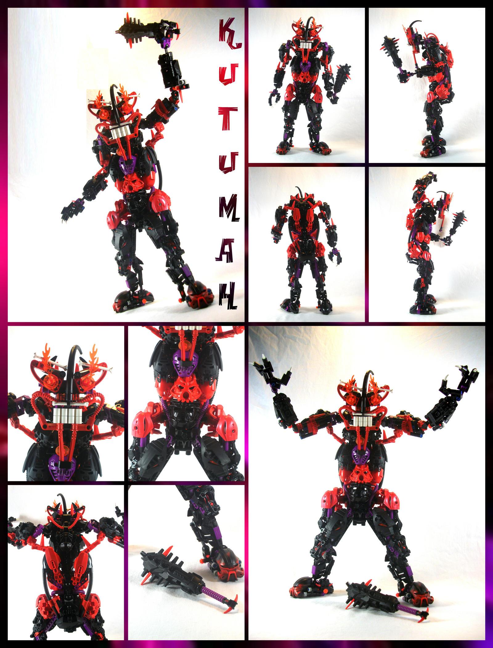 Bionicle MOC: Kutumah by 3rdeye88
