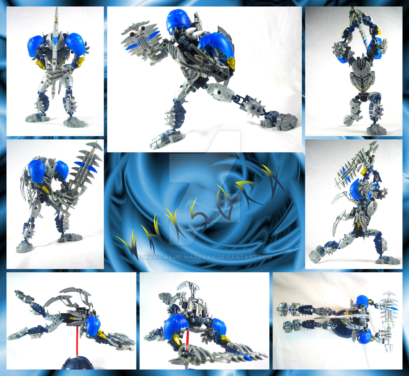 Bionicle MOC: Vhisora by 3rdeye88