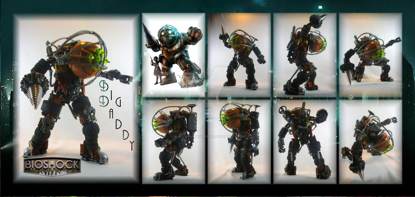 Bionicle MOC: Big Daddy by 3rdeye88