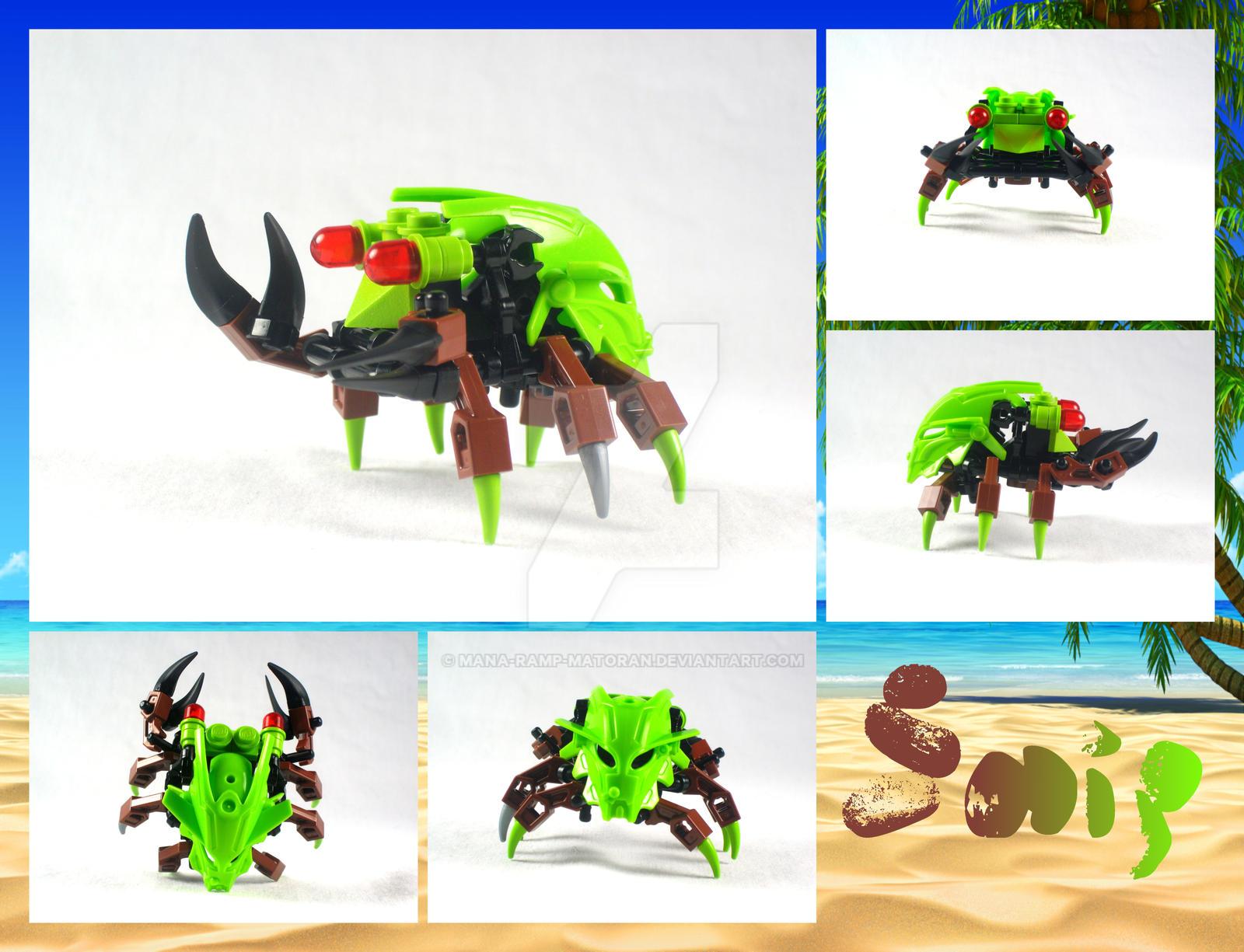 Bionicle MOC: Snip by 3rdeye88