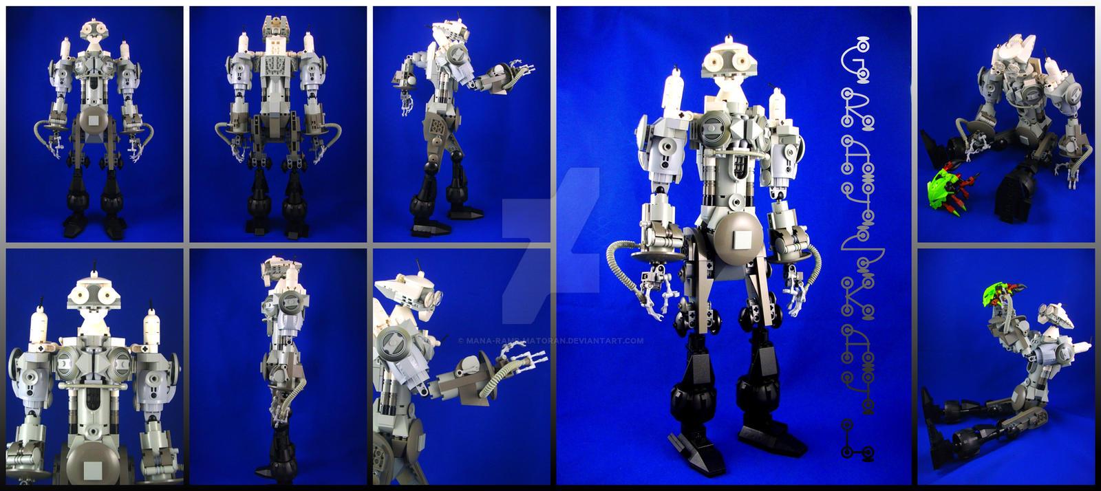 Lego System MOC: Grayskayl by 3rdeye88