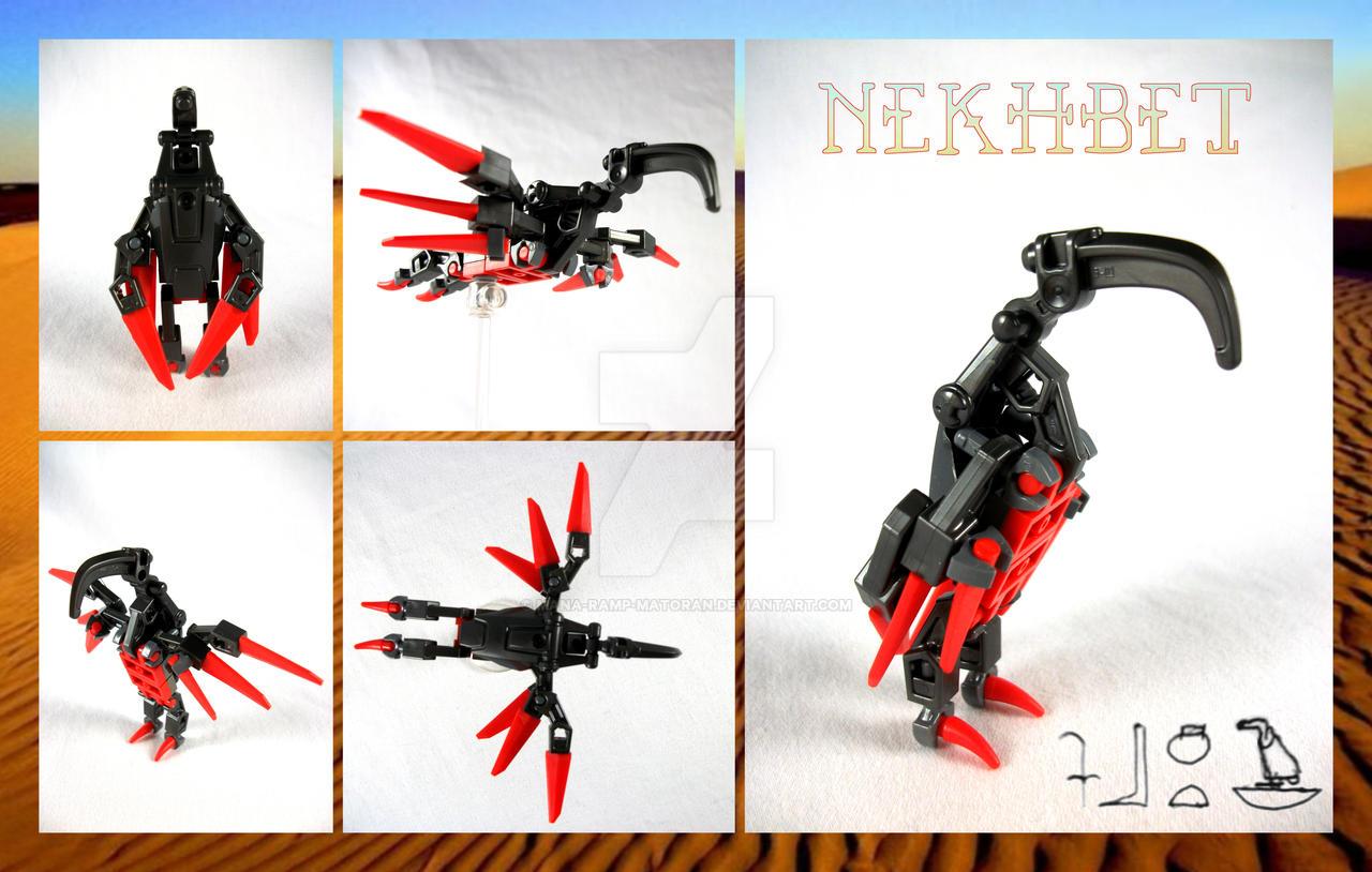 Bionicle MOC: Nekhbet by 3rdeye88