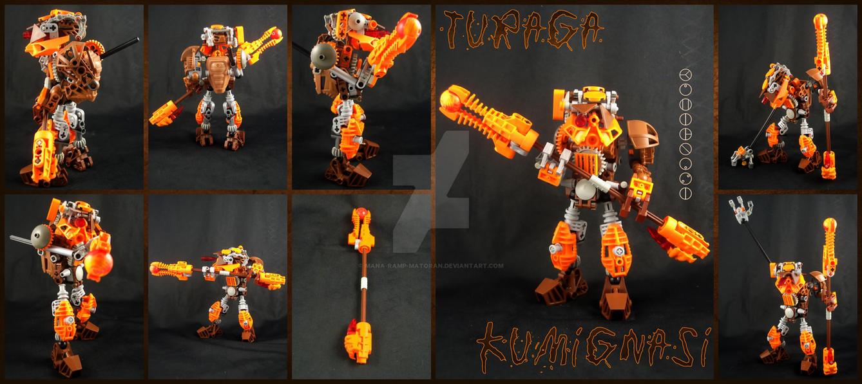 Bionicle MOC: Turaga Kumignasi by 3rdeye88