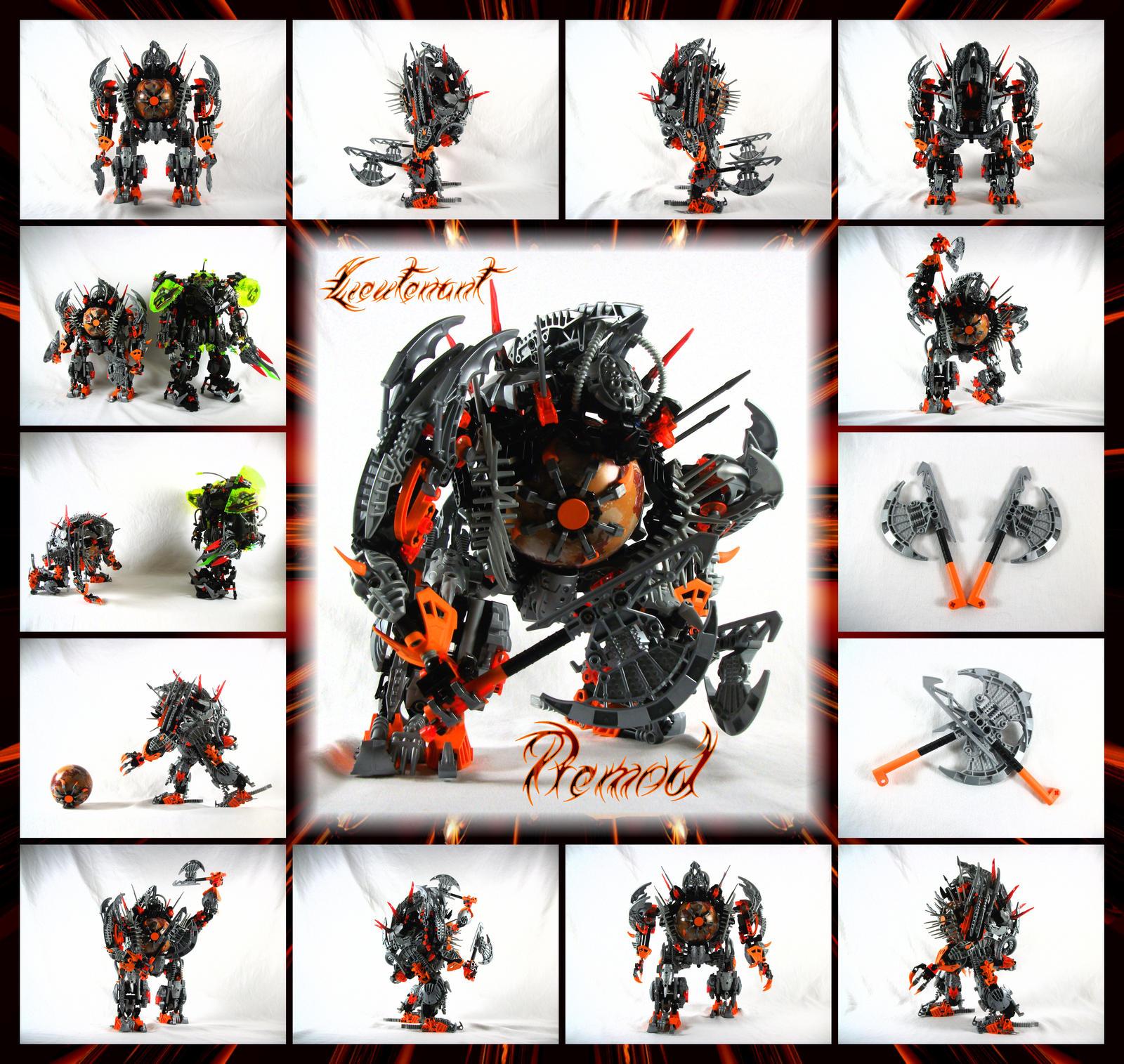 Bionicle MOC: Lt. Premod by 3rdeye88