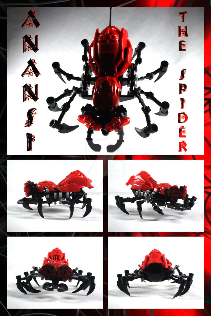Bionicle MOC: Anansi The Spider by 3rdeye88